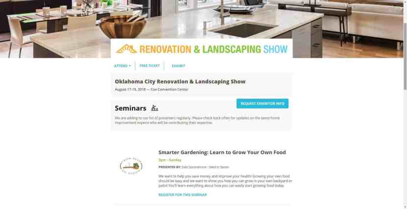 okc renovation & landscaping show