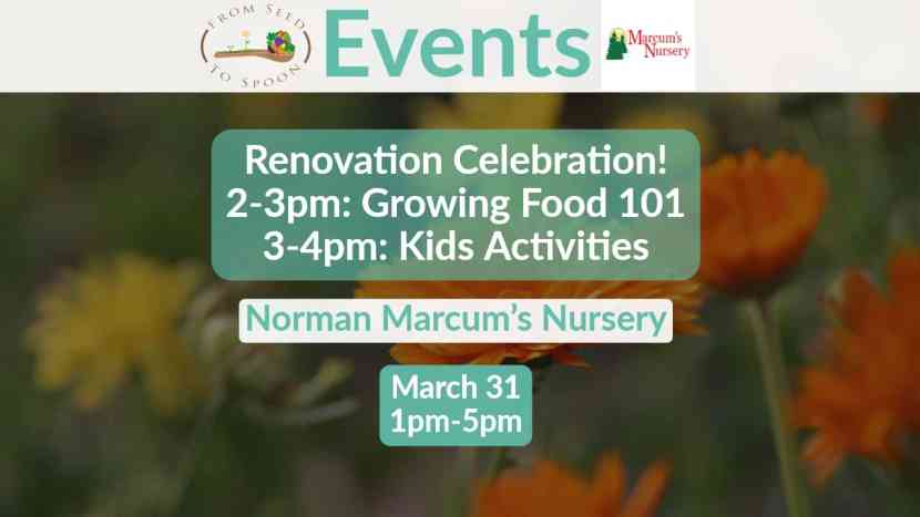 Marcum's Nursery Renovation Celebration