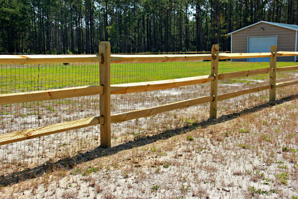 Residential Wire Fencing