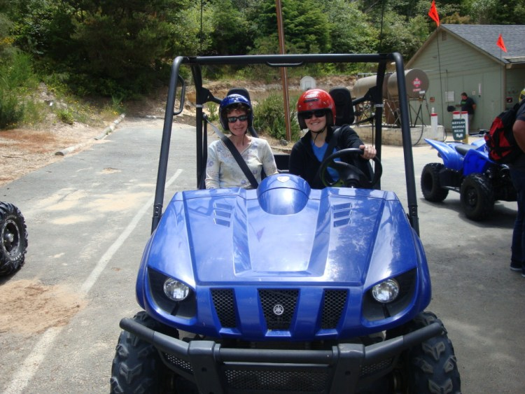 Dune Buggying with Mom on the Oregon Coast, I drove!