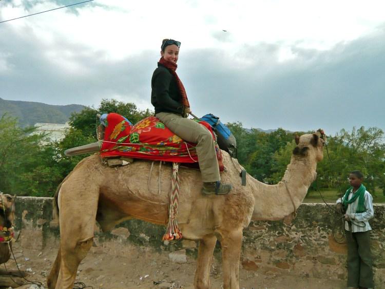 Riding Romeo in Pushkar, India