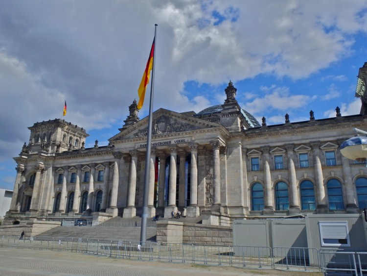 The Reichstag caital building of Germany - places to see in Berlin Germany