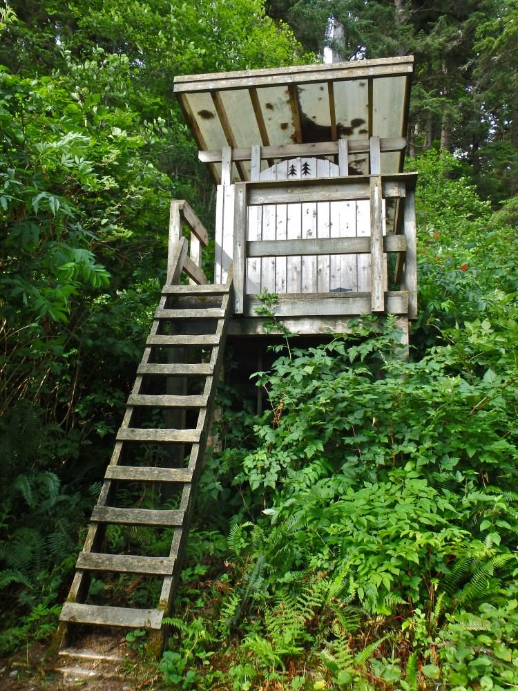 West Coast Trail outhouse