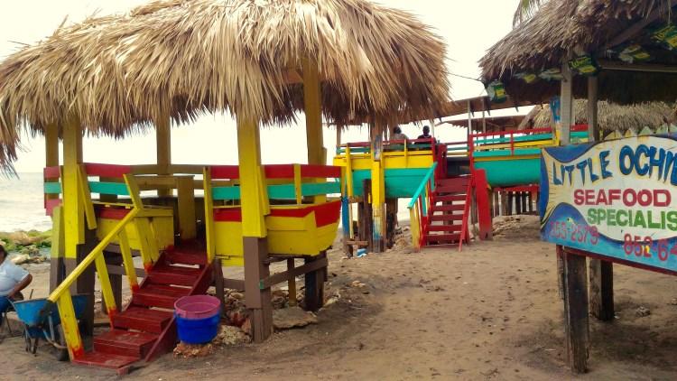 Best Seafood restaurant in Jamaica- Little Ochie!