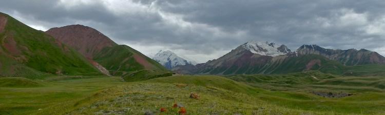 trekking in Kyrgyzstan Peak Lenin