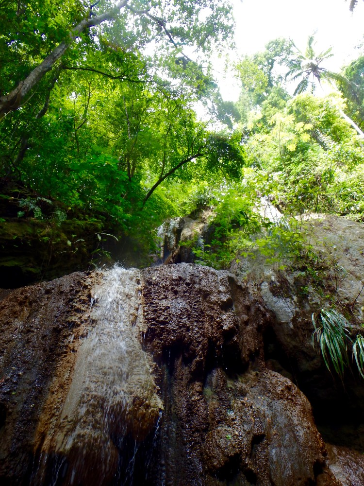 warm waterfall, Piton Waterfall St. lucia tourist attractions
