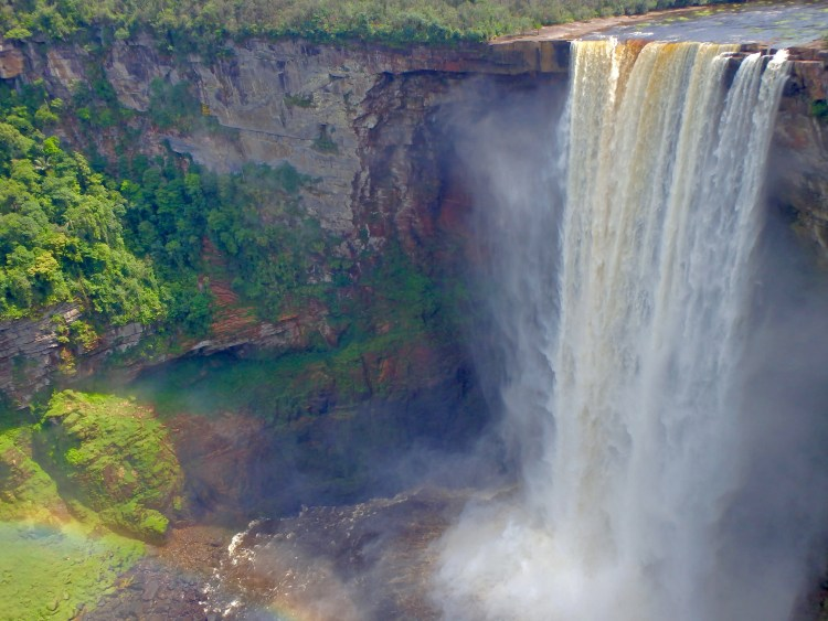 kaieteur day trips how to go to guyana waterfalls best places to see