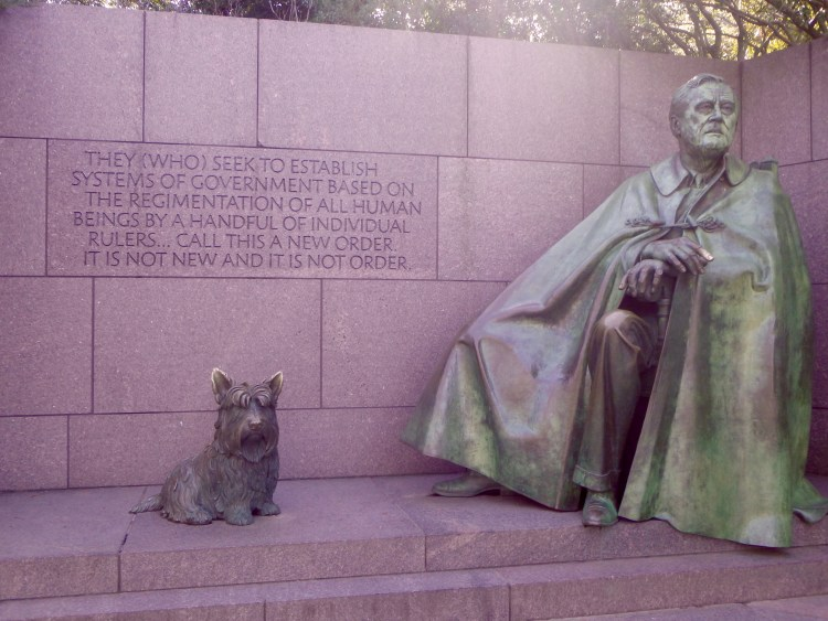 franklin Roosevelt memorial national mall washington dc in a day