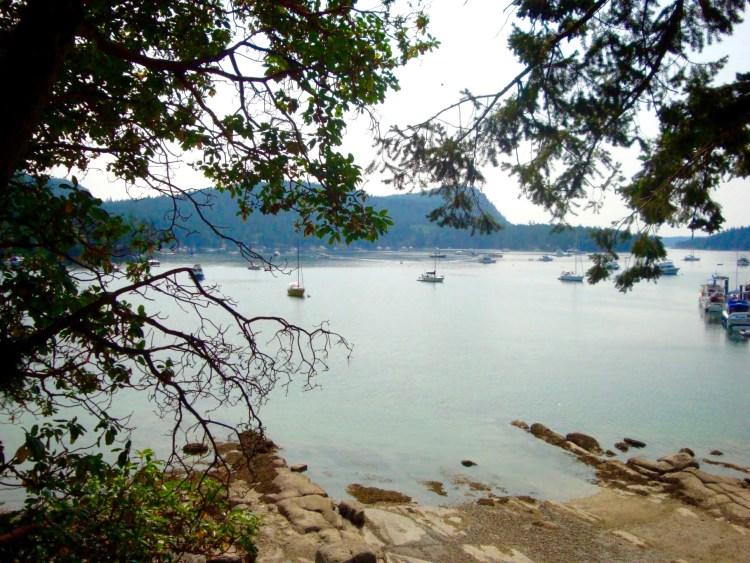 Montague Harbour marina Galiano island british Columbia campsite