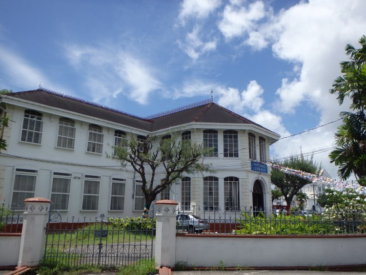 National Library of Guyana in Georgetown places to visit in georgetown guyana travel blog