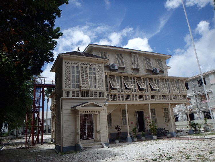 Walter Roth Museum of Archeology Amerindian history and culture Guyana georgetown museum