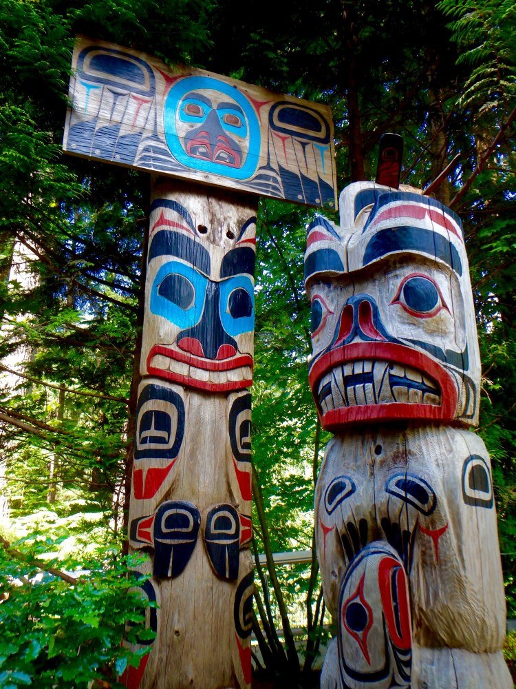 the best places to see totem poles in Vancouver quirky tourist destinations in BC