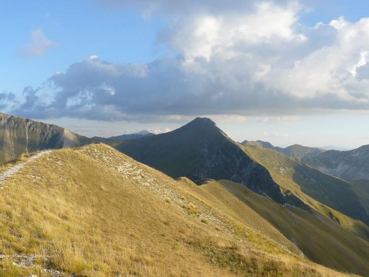 Sibillini italy mountains