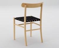 Lightwood Chair With Webbing Seat - Seehosu