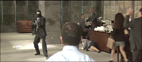 Image result for heat 1995 bank robbery scene