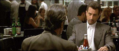 Image result for heat restaurant scene