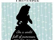 Free Alice In Wonderland Printables - Seeing Dandy