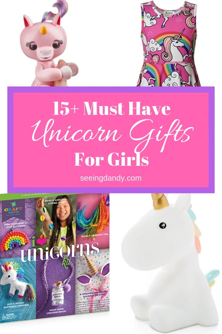 15 Must Have Unique Unicorn Gifts For Girls  Seeing Dandy
