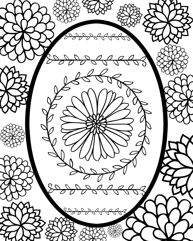 Wild Easter Egg Printable