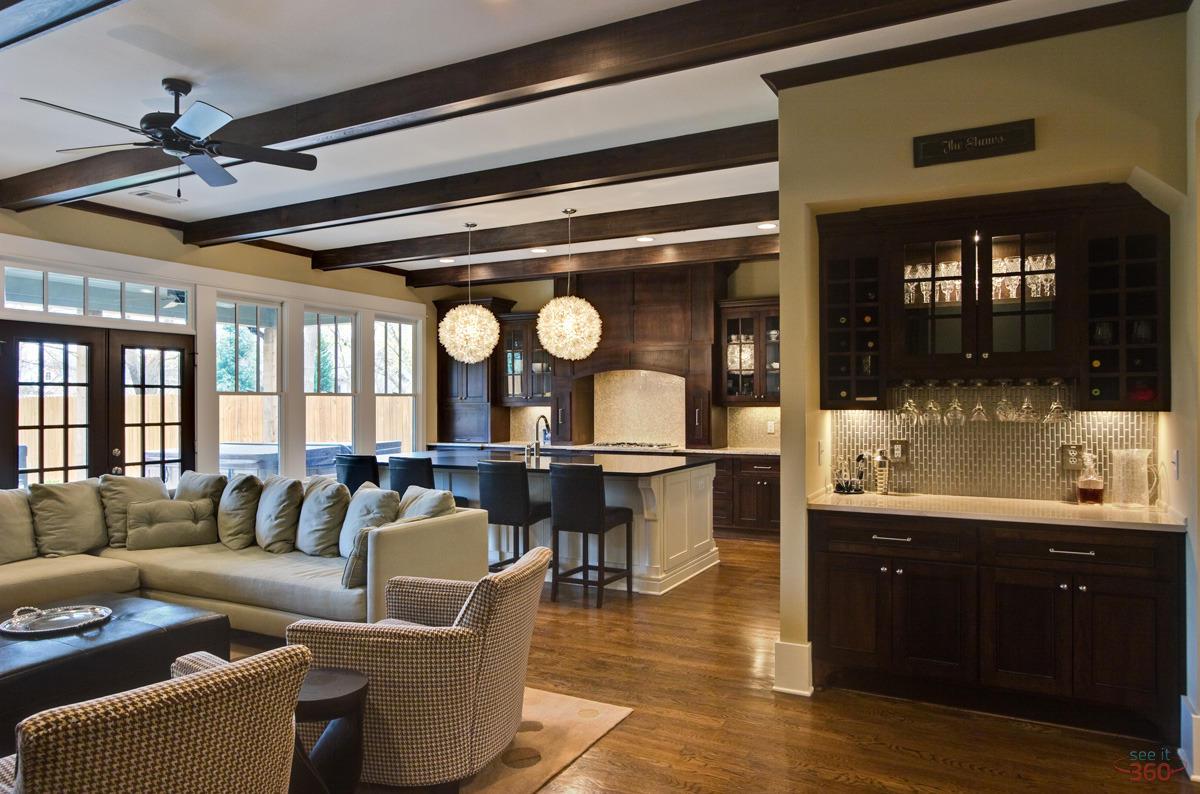 Interior Photography house bar