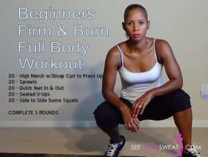 Firm & Burn Full Body Workout