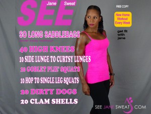 So Long Saddlebags Lower Body Workout