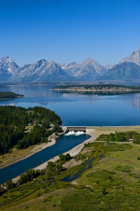 MustSee Destination 4 The Jackson Lake Dam  See