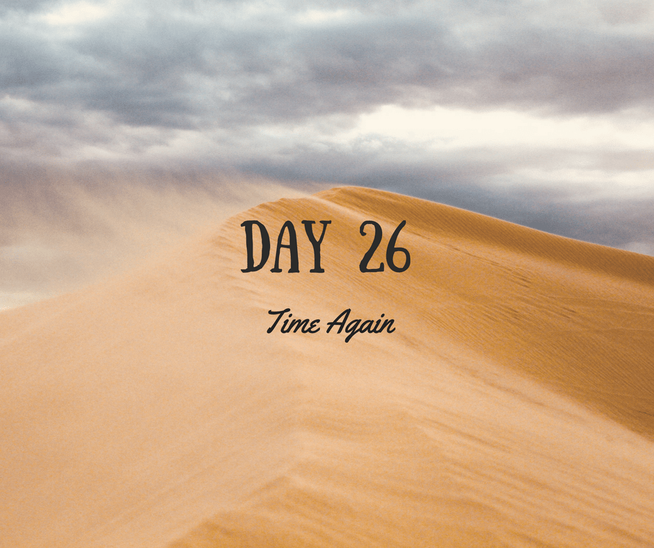 Desert Journey – Day 26