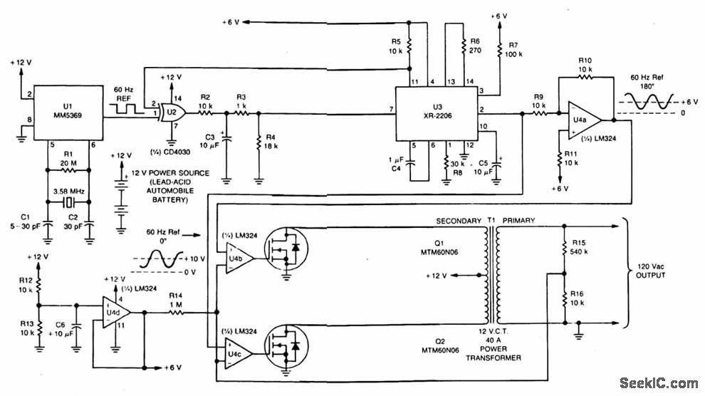 ups circuit diagram power supply