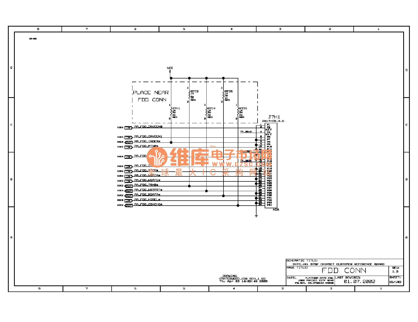 875p Computer Board Circuit Diagram 69