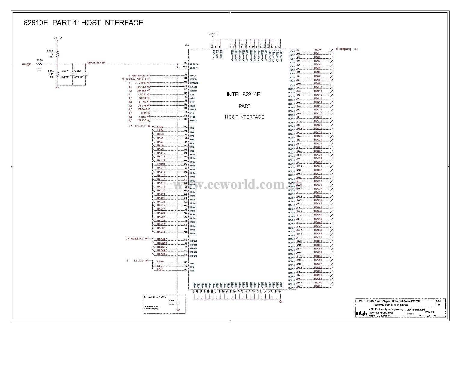 810 Computer Motherboard Circuit Diagram 07