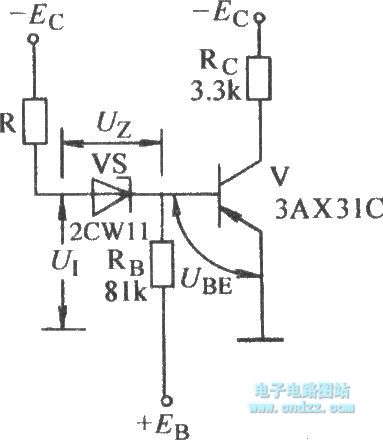 The threshold NOT gate circuit with pre- gate resistor