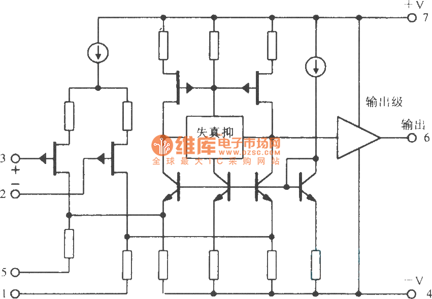 OPA604 FET input high-fidelity operational amplifier