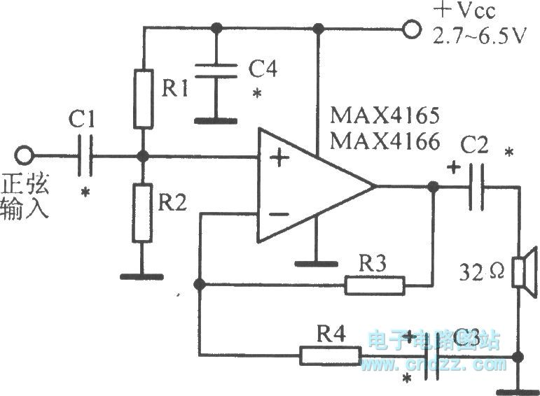 Low-power single-supply input and output operational