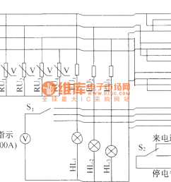 dut07 ac distribution box electrical schematic diagram [ 1152 x 720 Pixel ]