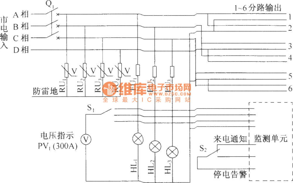 medium resolution of dut07 ac distribution box electrical schematic diagram