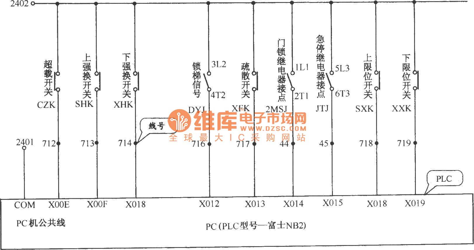Beijing Tujie Elevator Control Circuit 3
