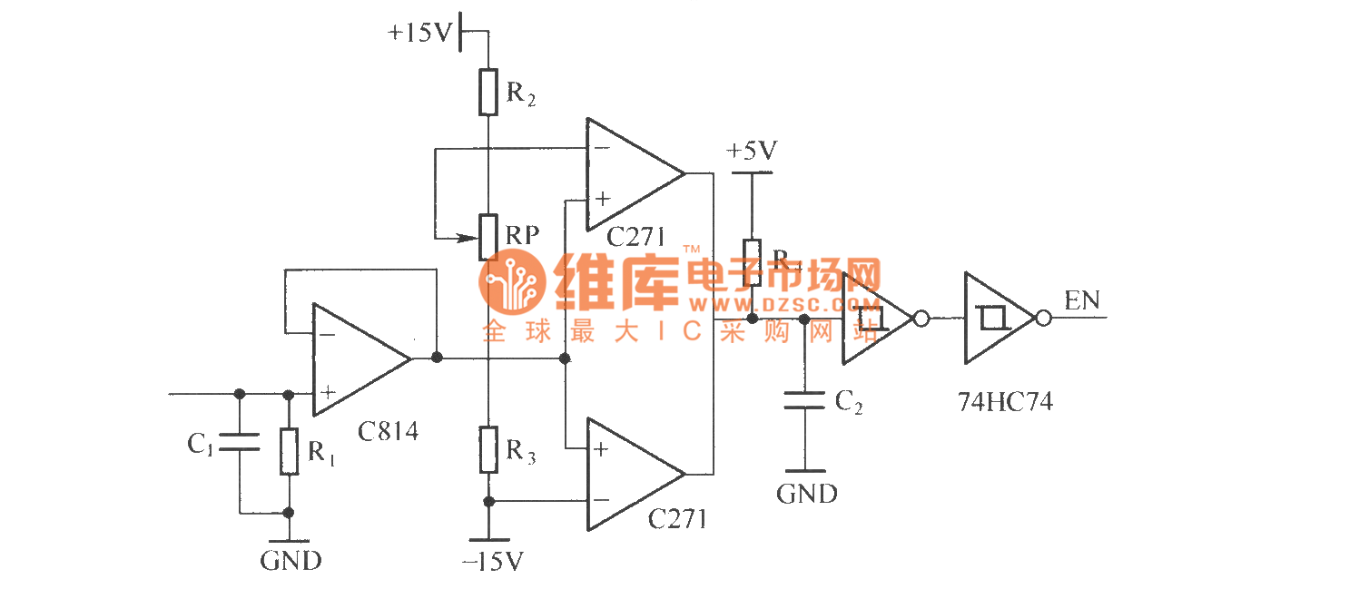 The principle diagram of IGBT over current protection