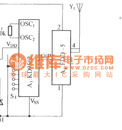 using audio coding wireless alarm system circuit diagram [ 1658 x 590 Pixel ]
