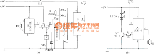 small resolution of using audio coding wireless alarm system circuit diagram