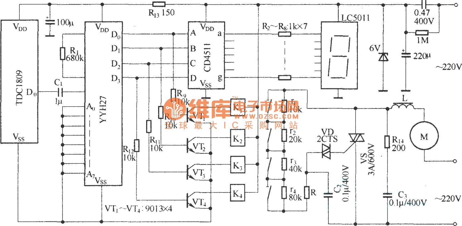 Wireless speed regulation transmitting and receiving
