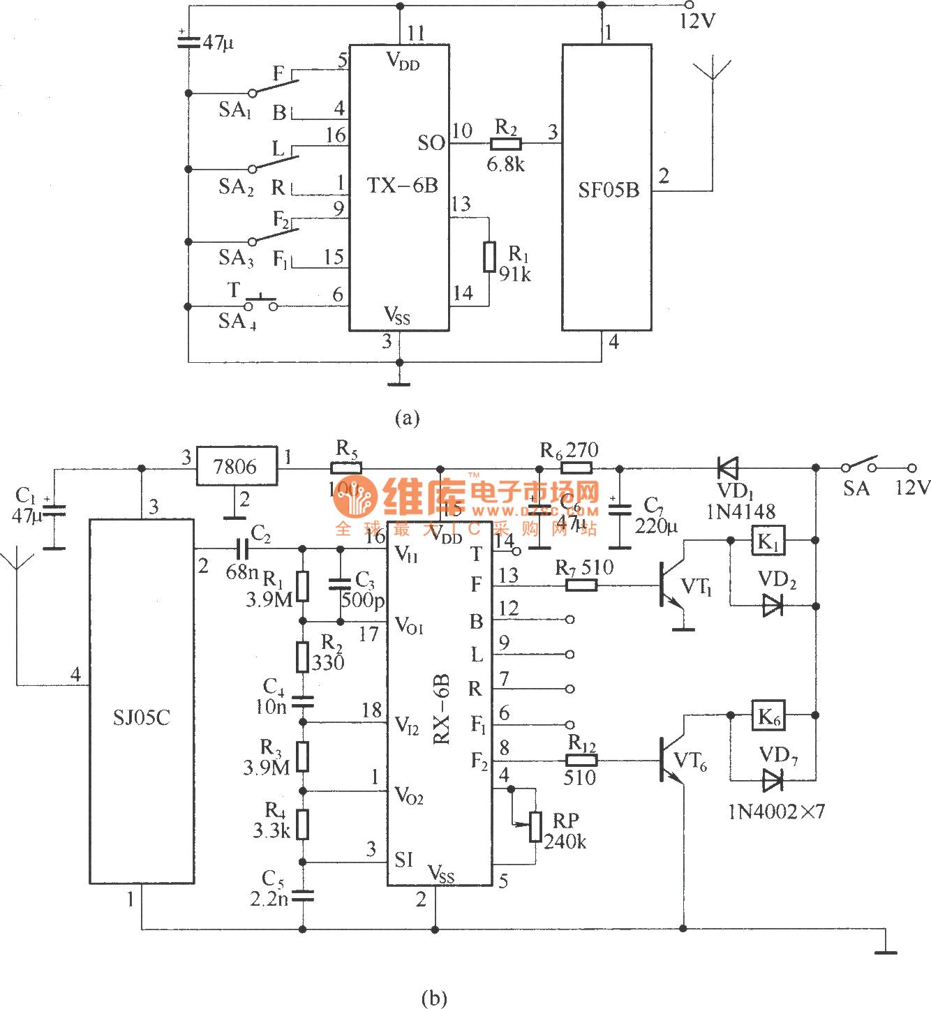 hight resolution of schematic diagram remotecontrolcircuit circuit diagram seekic channel keyboard control circuit controlcircuit circuit diagram