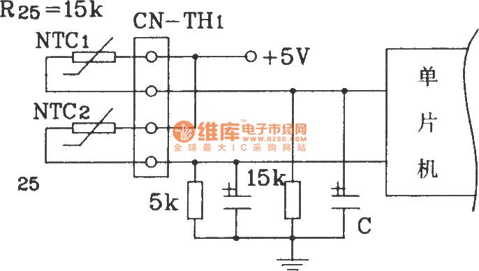 Panasonic split air conditioner MCU control temperature