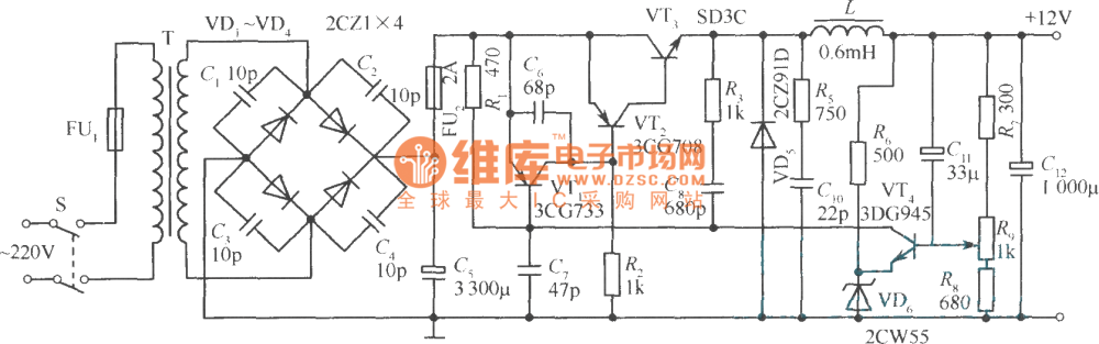 medium resolution of application circuit example of transistor switch stabilized voltage