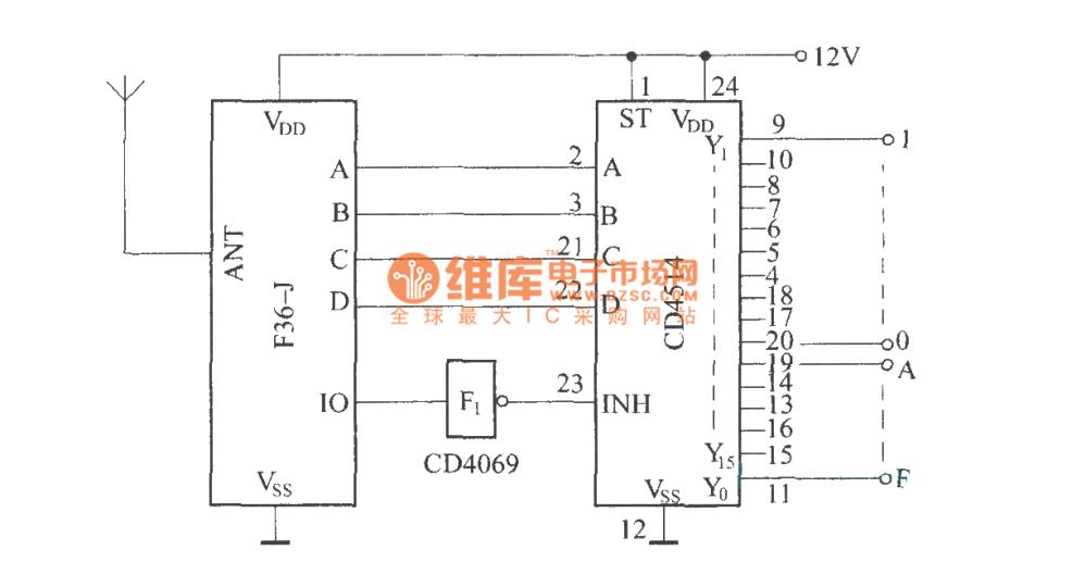 medium resolution of wireless remote control circuit diagram wireless remote switch circuit atv winch wireless remote wiring diagram wireless