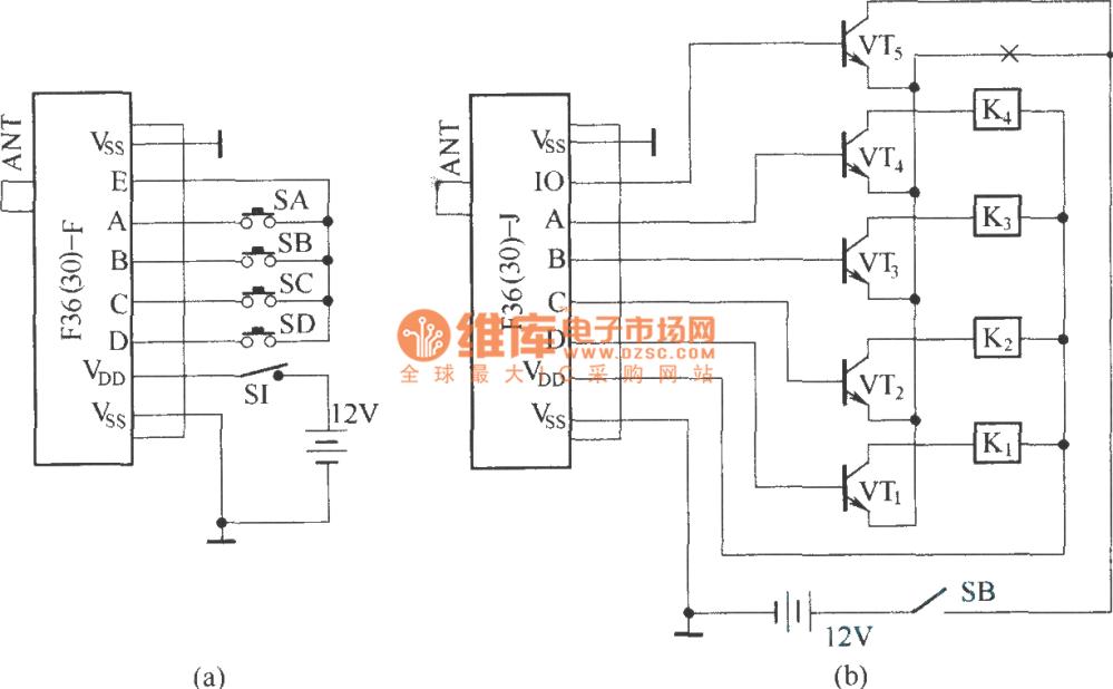 medium resolution of the basic radio sr circuit diagram composed of f36 f j