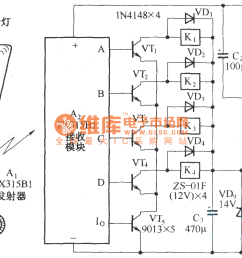 four way remote control ac switching circuit diagram remote switch wiring diagram four way remote control [ 1386 x 795 Pixel ]