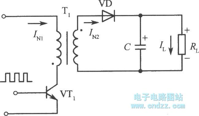 Single-ended fly-back converter switching power supply