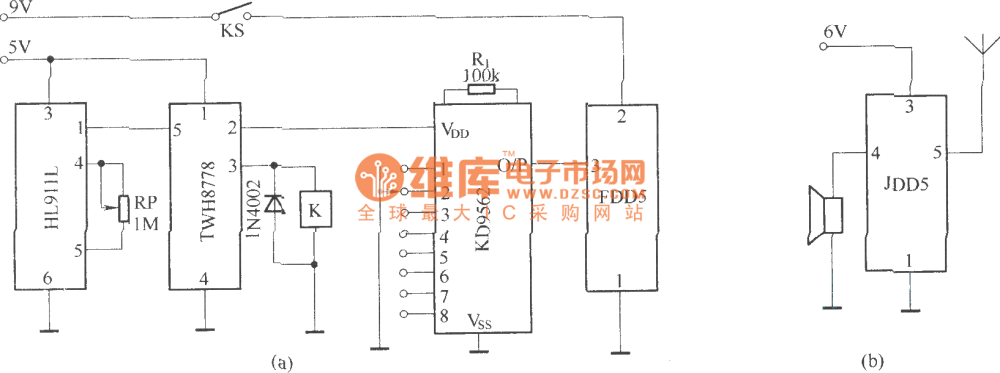 medium resolution of eight way wireless burglar alarm system circuit diagram eightway wireless burglar alarm system circuit diagram alarm