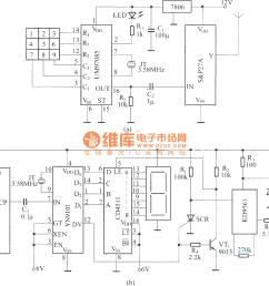 dtmf wireless paging system circuit diagram [ 1568 x 1317 Pixel ]